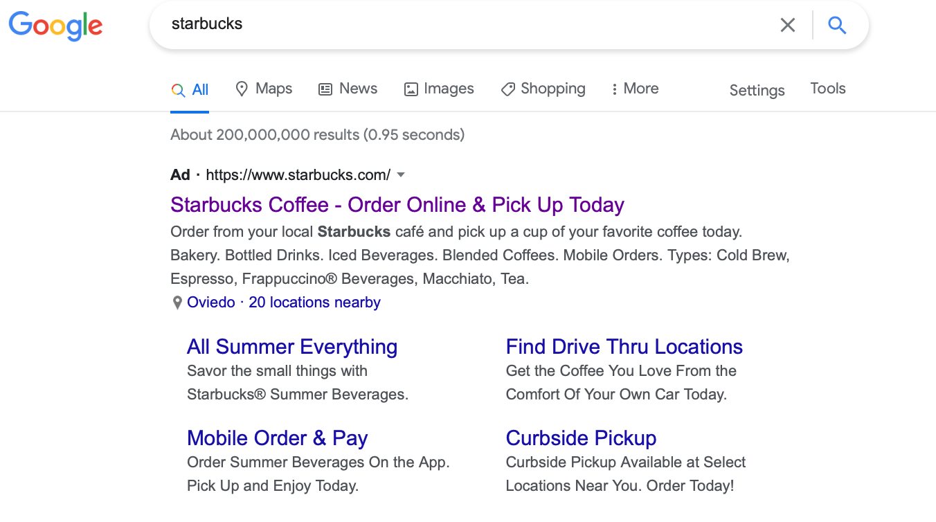 Google Ads brands ads