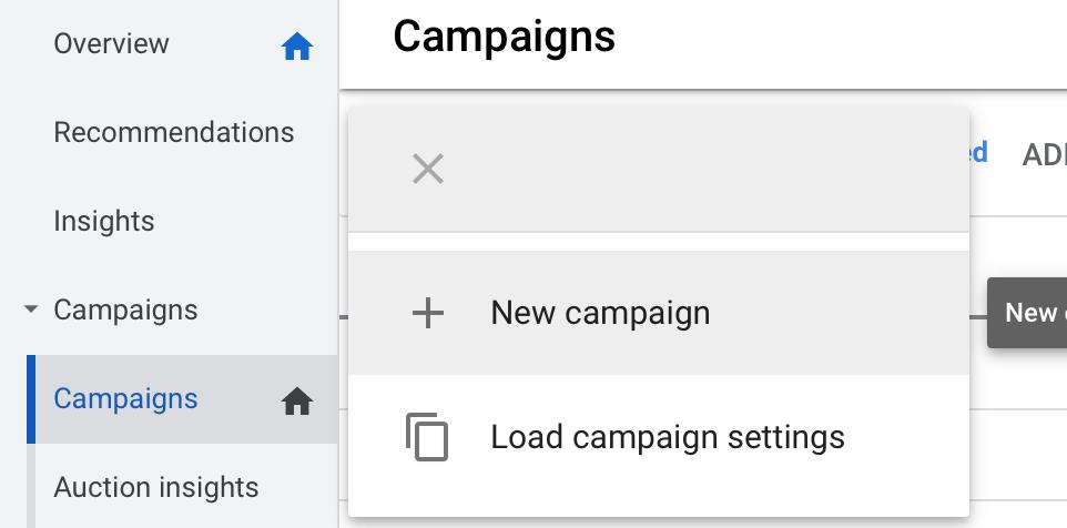 google Responsive display ad creation